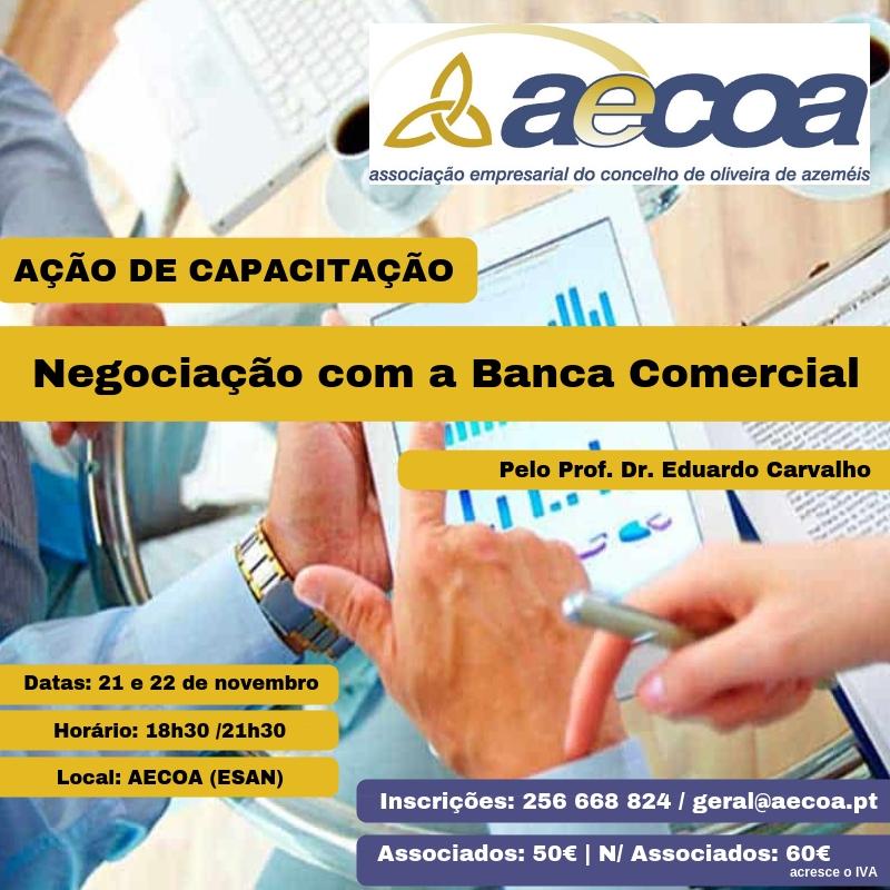 Ação de capacitação a decorrer na AECOA