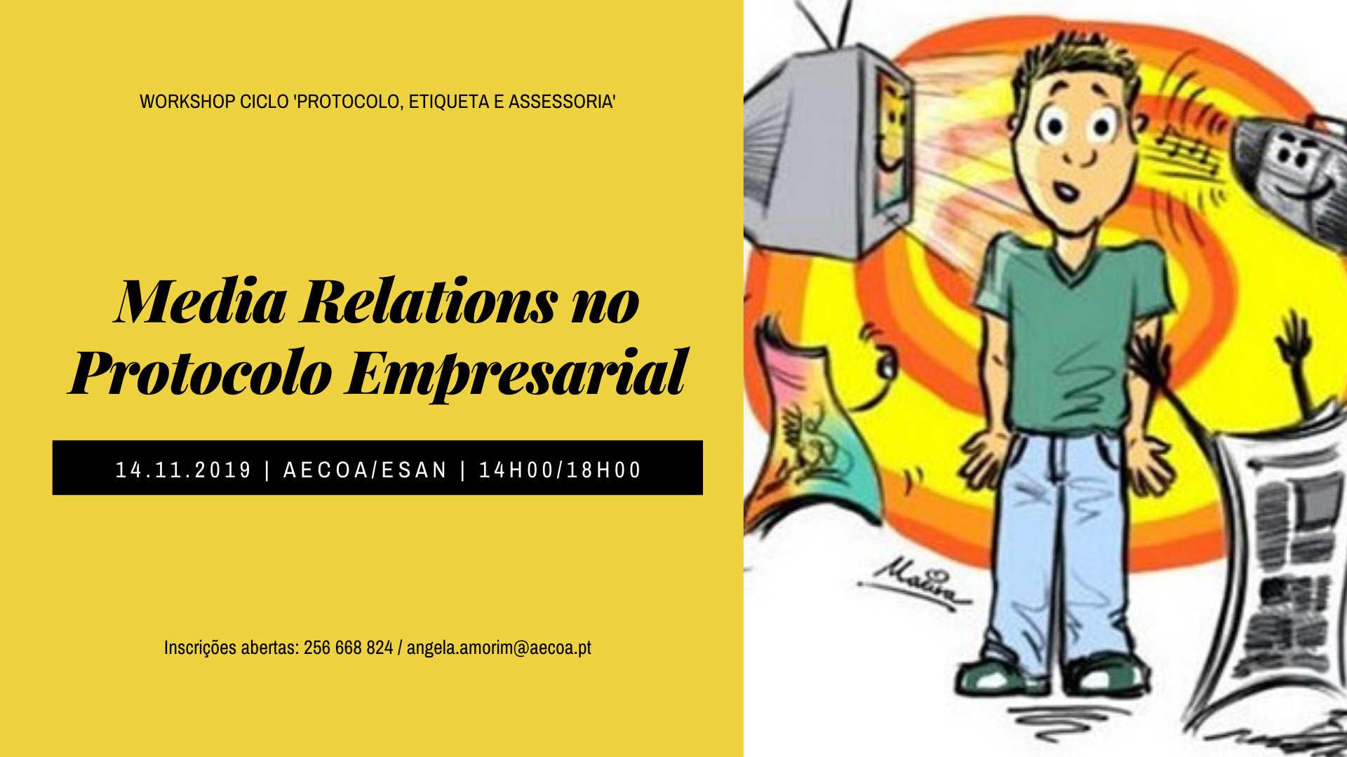 Media Relations no Protocolo Empresarial