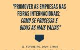 'Promover as Empresas nas Feiras Internacionais: Como se processa e quais as mais-valias'