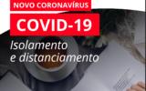 Covid 19 | Isolamento e distanciamento social